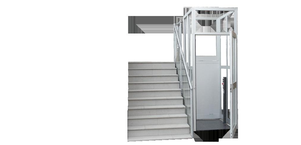 el vateur vertical parigi c pour pmr en erp. Black Bedroom Furniture Sets. Home Design Ideas
